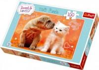Całusy (puzzle 100-elem.) - zdjęcie zabawki, gry