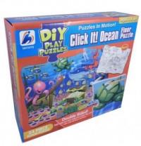 Wodny świat (puzzle dwustronne do malowania, 24-elem.) - zdjęcie zabawki, gry