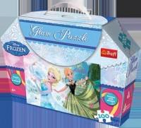 Kraina Lodu. Anna i Elsa (puzzle 100-elem.) - zdjęcie zabawki, gry