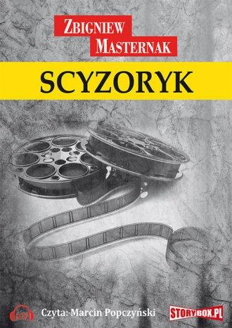 Scyzoryk - pudełko audiobooku