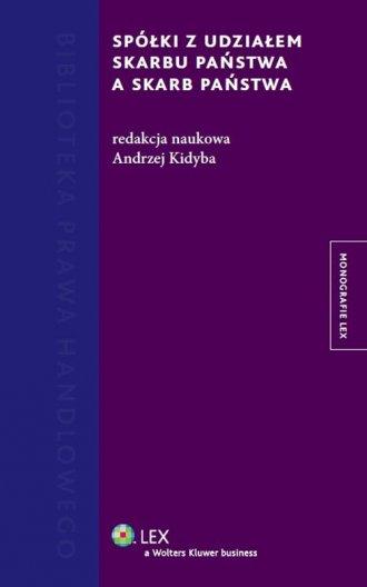 Spółki z udziałem Skarbu Państwa - okładka książki