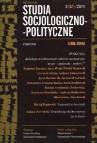 Studia Socjologiczno-Polityczne 2(02)/2014 - okładka książki