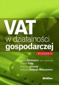 VAT w działalności gospodarczej - okładka książki