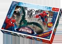 W pogoni za złoczyńcą / Disney Marvel Spiderman (puzzle 160-elem.) - zdjęcie zabawki, gry