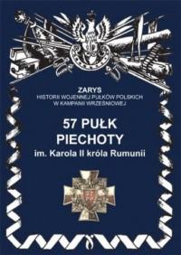 57 pułk piechoty im. Karola II - okładka książki