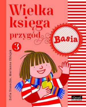 Basia. Wielka księga przygód 3 - okładka książki