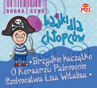 Brzydkie kaczątko  O korsarzu palemonie - okładka płyty