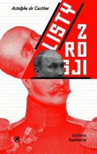 Listy z Rosji - okładka książki