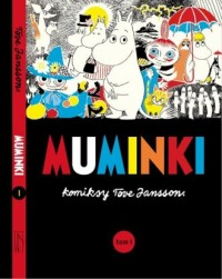 Muminki komiks. Tom 1 - okładka książki
