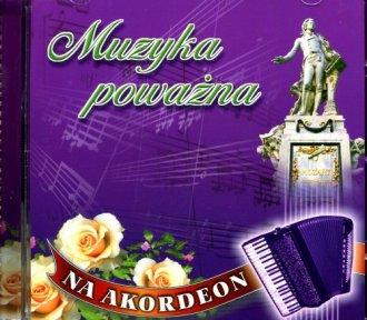 Muzyka poważna na akordeon - okładka płyty
