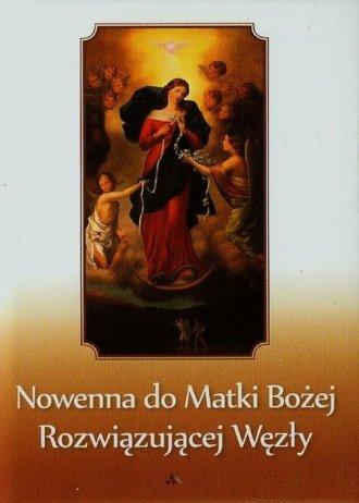 Nowenna do Matki Bożej Rozwiązującej - okładka książki