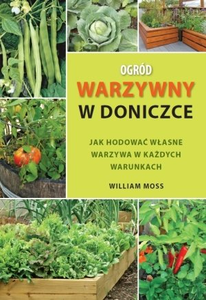 Ogród warzywny w doniczce. Jak - okładka książki