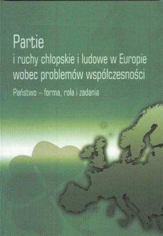 Partie i ruchy chłopskie i ludowe - okładka książki