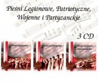 Pieśni legionowe, patriotyczne, - okładka płyty
