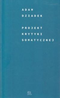 Projekt krytyki somatycznej - okładka książki