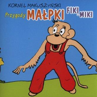 Przygody małpki Fiki Miki - pudełko audiobooku