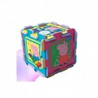 Świnka Peppa. Układanka puzzlopianka - zdjęcie zabawki, gry