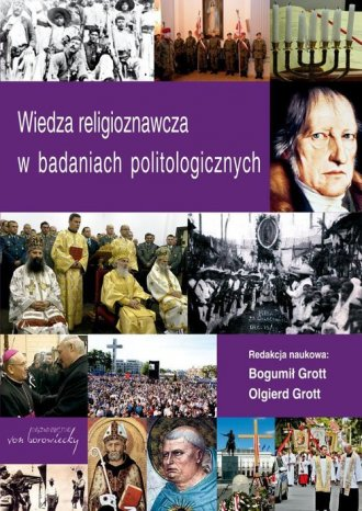Wiedza religioznawcza w badaniach - okładka książki