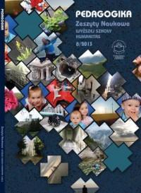 Pedagogika 8/2013. Zeszyty naukowe Wyższej Szkoły Humanitas - okładka książki