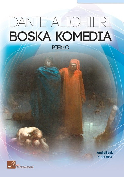 Boska Komedia (CD mp3) - pudełko audiobooku