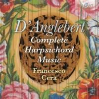 Complete Harpsichord Music - Jean-Henri - okładka płyty