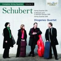 Complete String Quartets Vol. 3 - okładka płyty