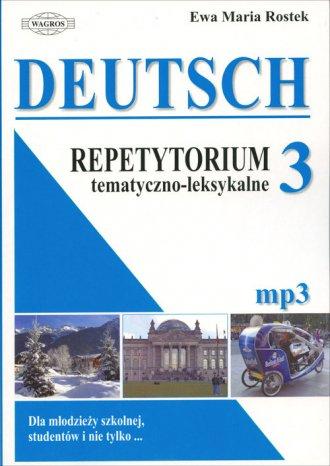 Deutsch 3. Repetytorium tematyczno - okładka podręcznika