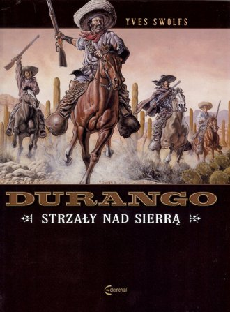 Durango 5. Strzały nad Sierrą - okładka książki