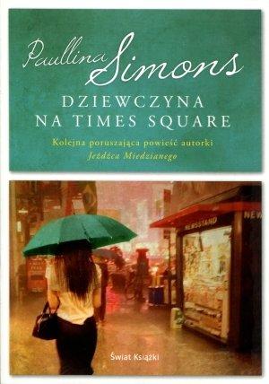 Dziewczyna na Times Square - okładka książki