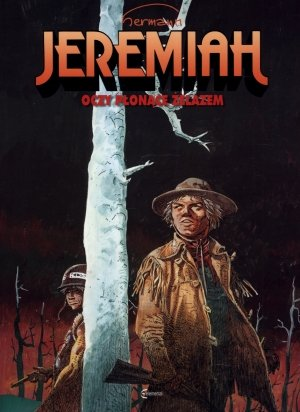 Jeremiah 4. Oczy płonące żelazem - okładka książki