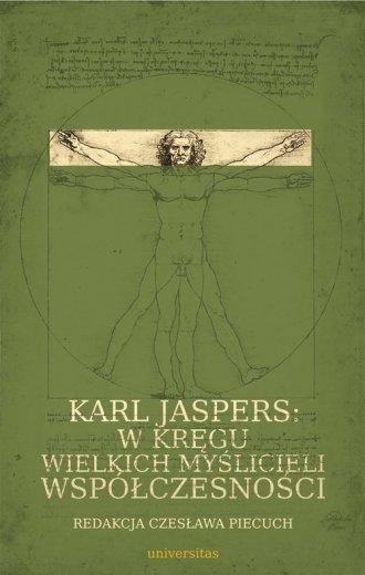 Karl Jaspers w kręgu wielkich myślicieli - okładka książki