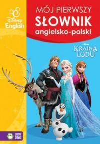 Kraina Lodu. Mój pierwszy słownik angielsko-polski - okładka podręcznika