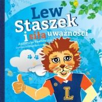 Lew Staszek i siła uważności - okładka książki