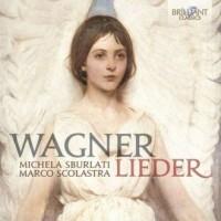 Lieder - Richard Wagner - okładka płyty