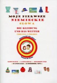 Moje pierwsze niemieckie słowa. Ubrania i pogoda - okładka podręcznika