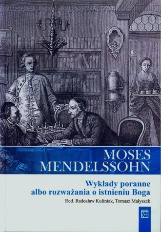 Moses Mendelssohn. Wykłady poranne - okładka książki