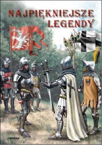 Najpiękniejsze legendy - okładka książki
