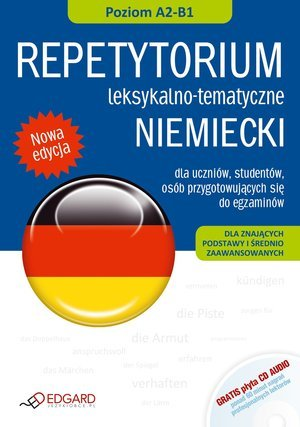 Niemiecki. Repetytorium leksykalno-tematyczne - okładka podręcznika