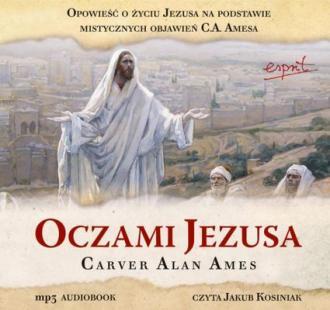 Oczami Jezusa - pudełko audiobooku