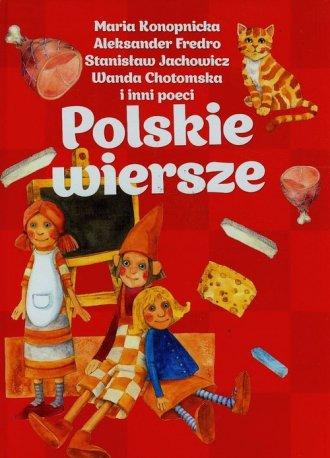 Polskie wiersze - okładka książki