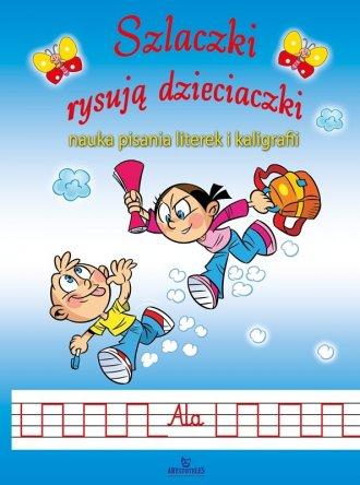 Szlaczki rysują dzieciaczki - okładka książki