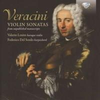Violin Sonatas from Unpublished Manuscripts - okładka płyty
