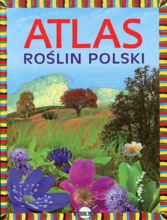 Atlas roślin Polski - okładka książki