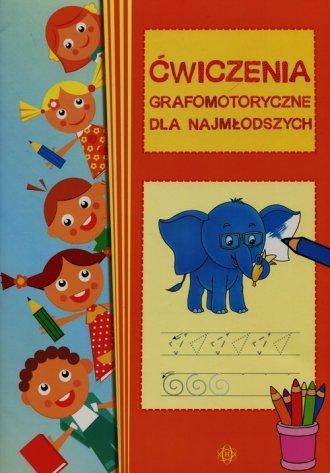 Ćwiczenia grafomotoryczne dla najmłodszych - okładka podręcznika