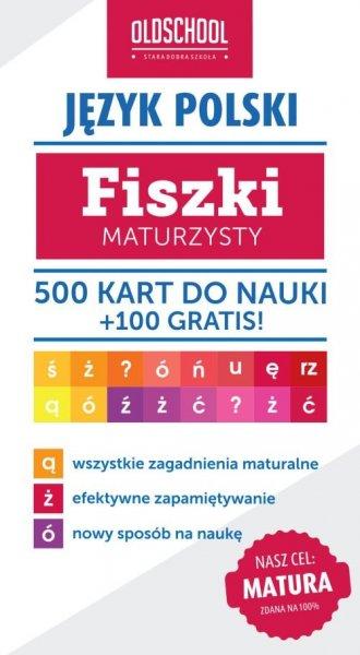 Język polski. Fiszki maturzysty. - okładka podręcznika