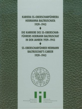 Kariera SS Oberscharfuhrera Hermana - okładka książki