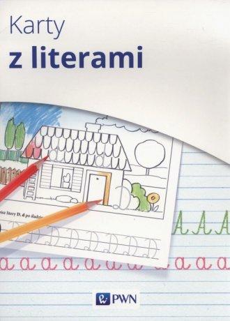 Karty z literami. Karty matematyczne - okładka podręcznika