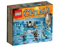 LEGO Chima. Plemię tygrysów szablozębnych - zdjęcie zabawki, gry