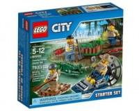 LEGO City. Policja z bagien. Zestaw - zdjęcie zabawki, gry