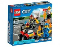 LEGO City. Strażacy. Zestaw startowy - zdjęcie zabawki, gry